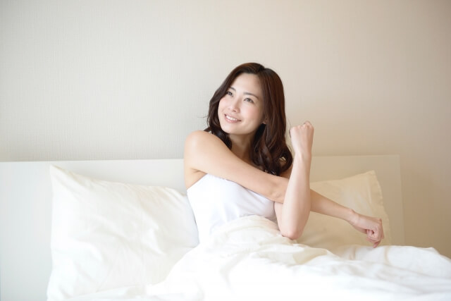 睡眠不足改善で腸内フローラを整える