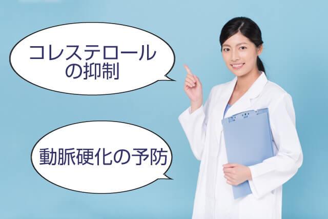 紅麹色素(ベニコウジ色素)にコレステロールの抑制や動脈硬化の予防