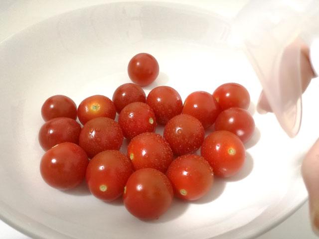 ベジセーフのミニトマトの効果