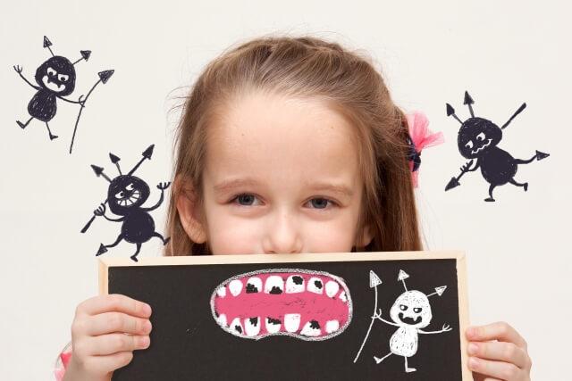 口内フローラが乱れると虫歯や歯周病に