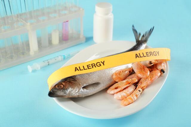 たん白加水分解物にアレルギー
