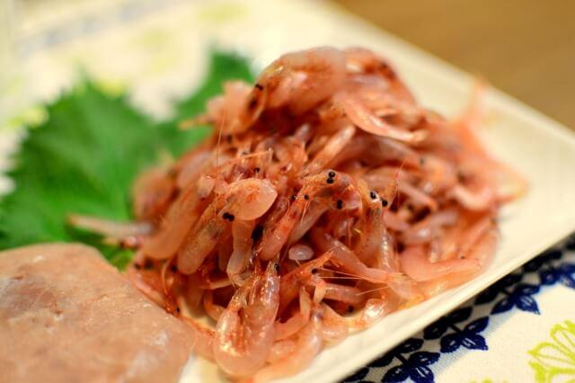 アスタキサンチンが多く含まれる食品桜えび