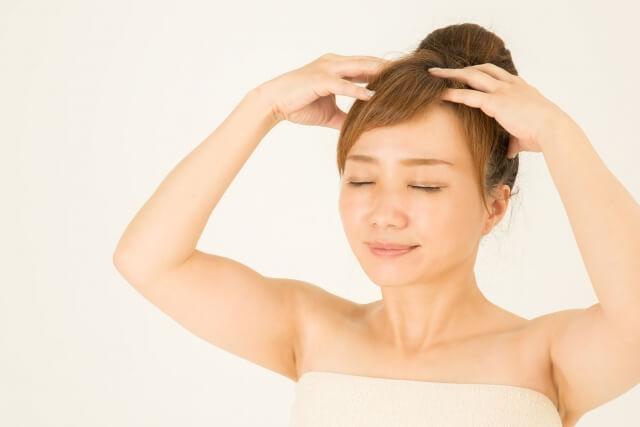 馬油を髪の毛や頭皮に使う