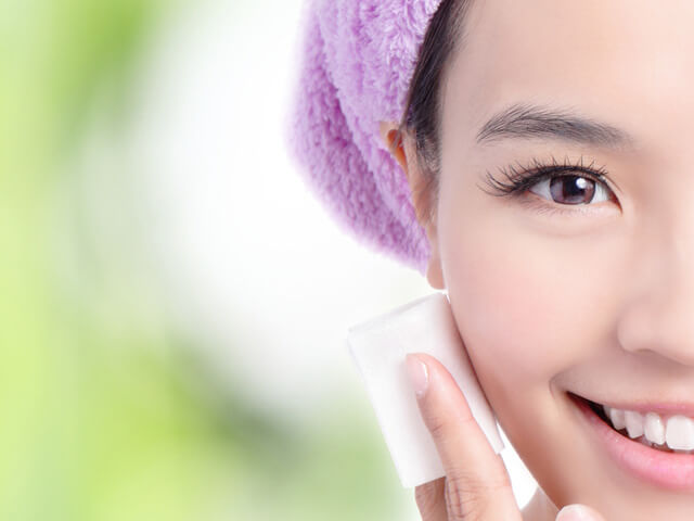 洗顔やクレンジングでゆらぎ肌を改善