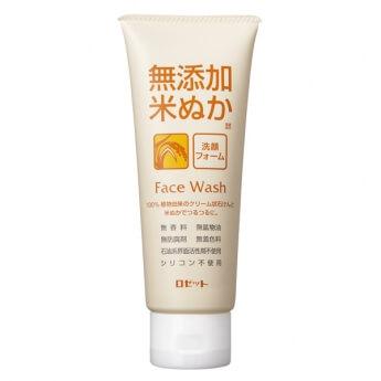 おすすめ米ぬか洗顔ロゼット「無添加米ぬか洗顔フォーム」